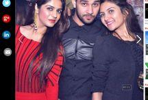Sonali katyal and Rashi sharma,Nitin Chawla's event/ Timesofindia.com
