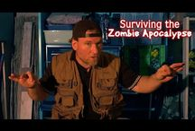 Our Youtube Channel and Zombie Hunter tips! / From our other film company, Hellbender Media, come subscribe to our youtube channel to see our trailers and new zombie web series!