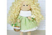 My crochet dolls