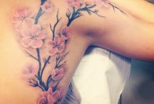 Tattoo -cherry blossom