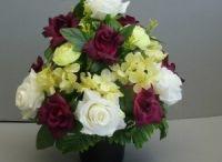 Artificial grave flower pots / Flower pots pots for grave tending