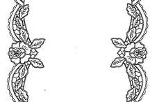 Richelieu- hímzés minták / érdekes hímzésminták