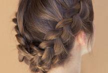 Hair inspiration / Hair mostly braids