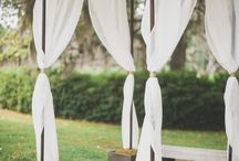 Wedding Decor / Ideas for Chuppah and other decorations