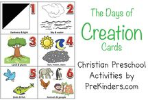 Christian Preschool Activities / by Karen Cox @ PreKinders
