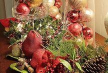 arranjos natalinos em cipo