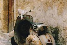 scooters en motoren.