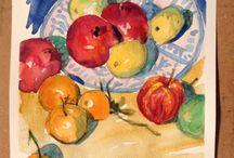 Watercolors Acquerelli Stefano Maestrini / arte, pittura