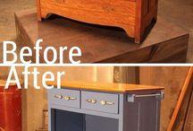 Re-purpose furniture