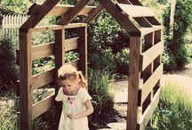 Small garden + fun for kids