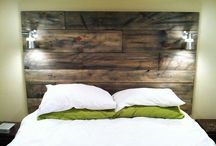 Bedroom / Headboards and decoration ideas