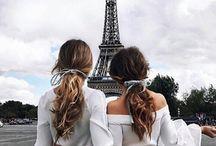 Disneyland Paris photos (Lucy and I)