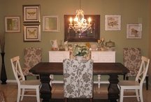Dining Room  / Dining room furniiture, accessories, etc, that I want in my Home  / by Beverly Cabaday
