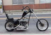 1996 Harley Davidson XL1200C Long Fork Chopper / 1996年 Harley Davidson XL1200Cをベースにロングフォーク&リジッドチョッパーを製作 byモミアゲスピード