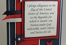 Patriotic Cards & More / by Tina Covington