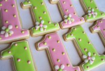 Birthday Cookies for Girls