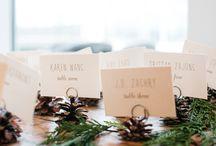 Cozy Weddings / Winter Wedding Ideas