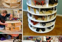 Regale Shelves / Regal einfach, schrill, schräg und vor allem anders