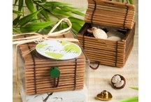 Green Wedding Favors / Green wedding favors are the perfect blend of environmental responsibility and everlasting romance.  http://discountweddingfavors.com/50-green-wedding-favors / by Laura Scott