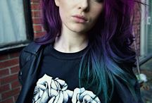 Hair looks&colour