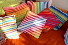 Cushions and Pillows / by Ellen Horak