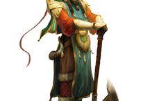 Fantasykunst Charactere