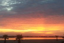 Sunrise / L'alba sopra il Baldinini Hotel a Rimini