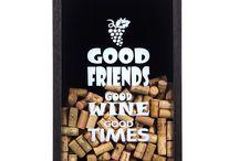 Quadro Porta Rolha / Decore a sua casa com as rolhas dos vinhos que você for tomando! Fica lindo!