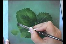 Leaves to paint