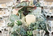 Vintage Flower Centerpieces Table Decorations