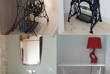 Dikiş makinası masa