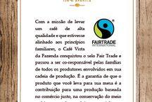 Vista da Fazenda. Fairtrade Brazilian Coffee to the Planet! / Fairtrade 100% Arabic Brazilian Coffee from Iracema's Farm @ South of Minas.