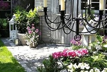 { Country garden } / Country gardens raised beds porches outdoor room trees flowers peony cottage gardens landscape gardens pools fire pits design relax