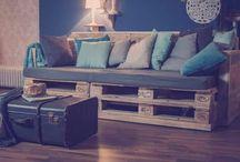 DIY Paletten Möbel