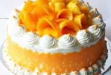 Mango cakes and fruit Cakes