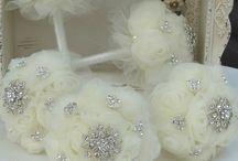 Ramos de flores de novia