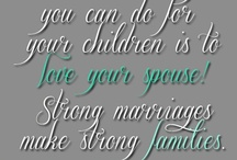 Building Strong Families / Strategies to build healthy relationships and strong ties with family.