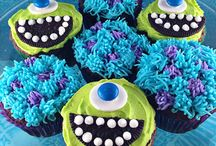 Cupcakes monster Université