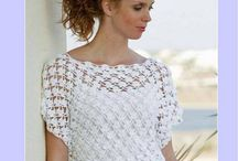 Crochet // clothes // home-deco //  ideas