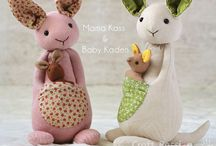 Poupees doudous - Dolls softies