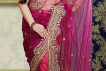 Bridal Wedding Sarees / Exclusive latest trend bridal wedding sarees.Buy now from indianweddingsaree.com.All types of sarees available-theme based wedding saree,bridal wedding saree etc