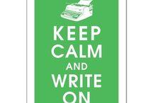 write it down...