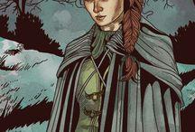 Sandor/Sansa