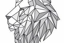 animaux geometriques