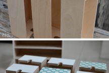 Upcycling Möbel // upcycling furniture / Selbstgemachte Verschönerung für Haus und Garten.