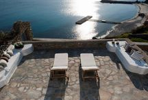 Villa Maria #Mykonos #Greece #Island / Villa Maria is a luxury villa, built in the traditional Mykonian style with beautiful interiors. The villa overlooks the bay of Ornos, with stunning sea views and direct access to the beach, just a few steps from the beautiful beach of Santa Marina, next to Santa Marina Hotel. http://www.mygreek-villa.com/rent-villa-search/villa-maria-mykonos-island-greece
