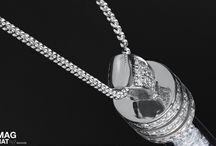 Diamonds magnate necklace classic