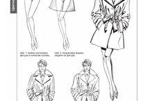 Рисование одежды на фигуре