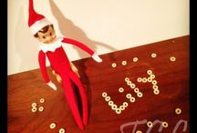 elf on a shelf. / by Chandra Isenberg