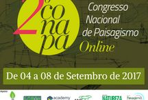 CONAPA 2017. Congresso Nacional de Paisagismo Online / Congresso Nacional de Paisagismo Online 4 a 8 de setembro de 2017 Inscrições gratuitas através do link https://goo.gl/rfrM5p